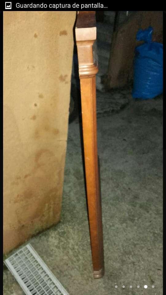 Imagen producto Espejo antiguo madera de 109x89x4,5. 5