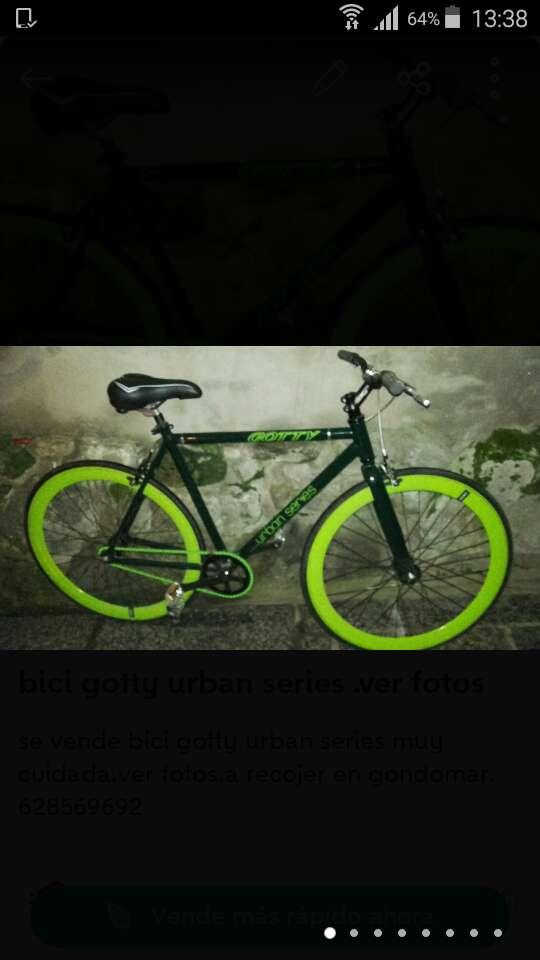 Imagen bici gotty urban series muy cuidada.ver fotos.