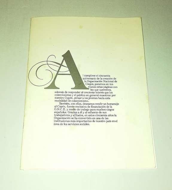 Imagen producto 50 Aniversario Sello Cupón De La Once 2