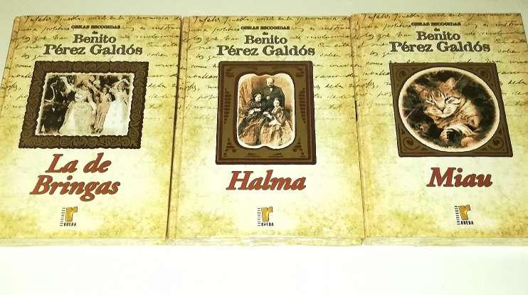 Imagen producto Benito Pérez Galdós 9 Tomos Nuevos 4