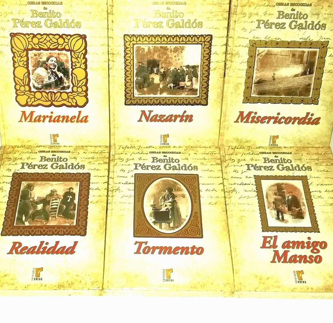 Imagen producto Benito Pérez Galdós 9 Tomos Nuevos 2