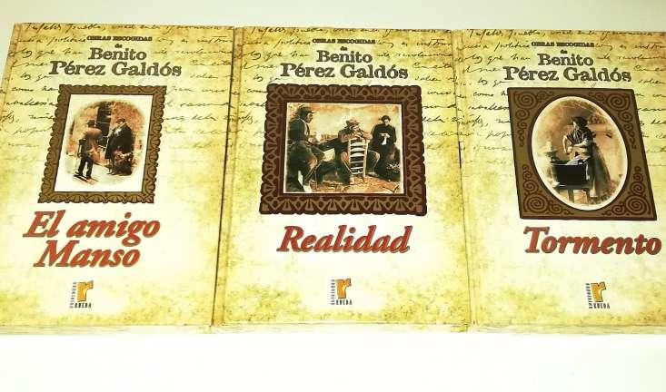Imagen producto Benito Pérez Galdós 9 Tomos Nuevos 3