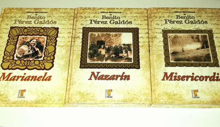 Imagen producto Benito Pérez Galdós 9 Tomos Nuevos 5