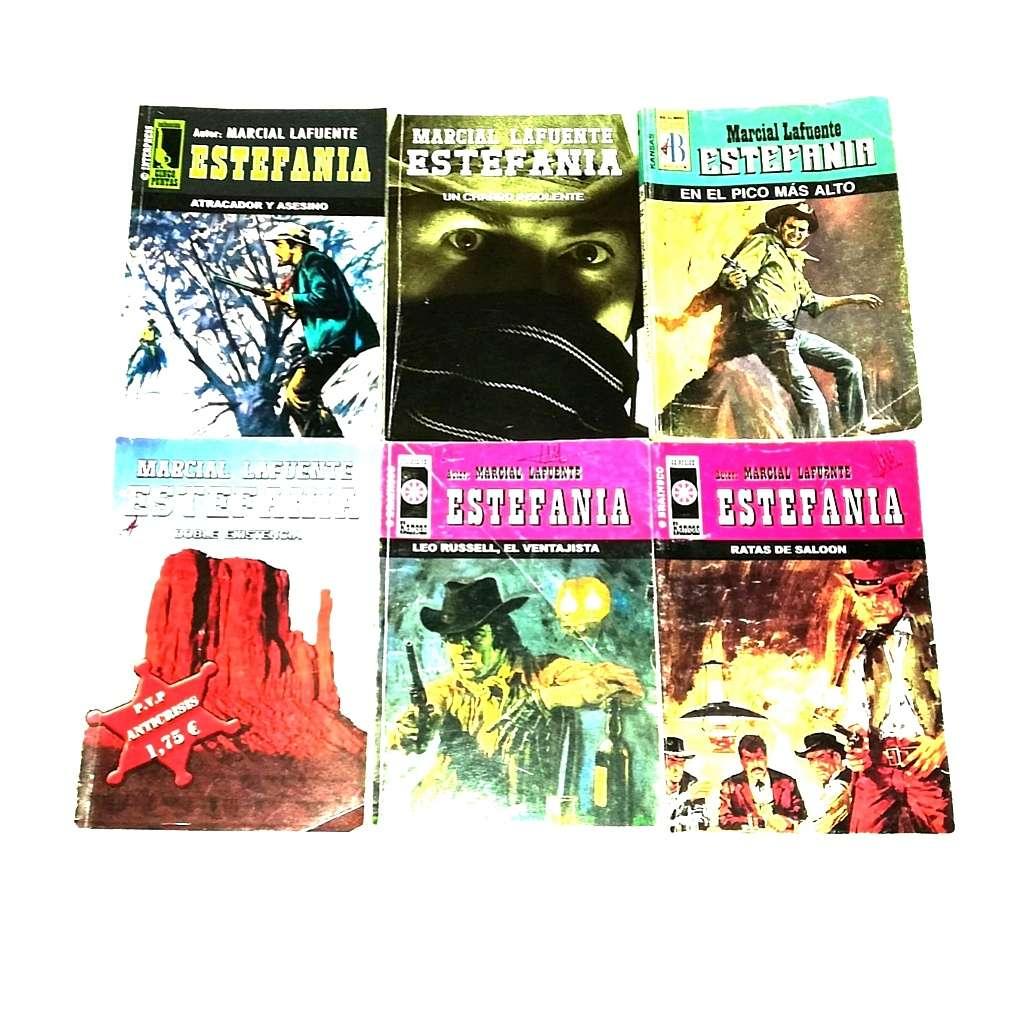 Imagen 10 Libros De Bolsillo. Marcial Lafuente. ESTEFANIA
