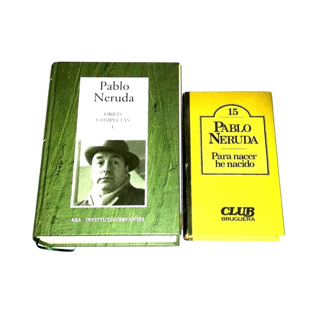 Imagen Pablo Neruda 2 Libros