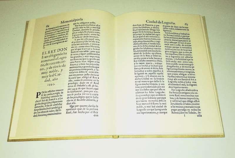 Imagen producto Memorial Por La Ciudad De Logroño 1633 2