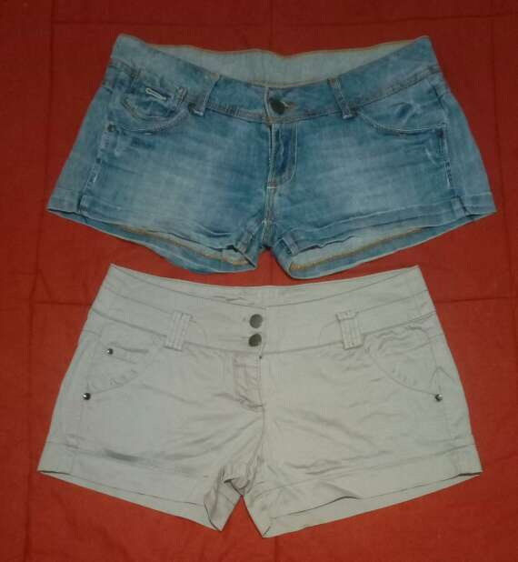 Imagen pantalones jeans cortos