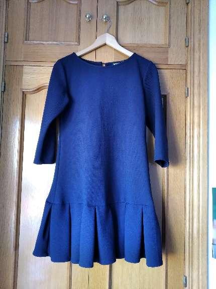 Imagen vestido azul marino