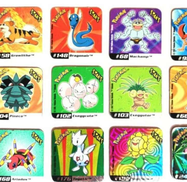 Imagen producto Stak O Imán De Pokémon 4 x 4cm (2002) 2
