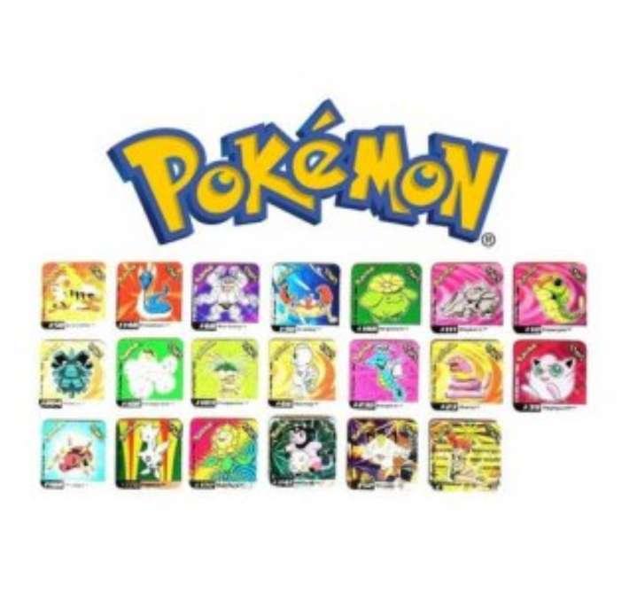 Imagen Stak O Imán De Pokémon 4 x 4cm (2002)