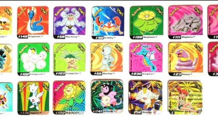 Imagen producto Stak O Imán De Pokémon 4 x 4cm (2002) 3
