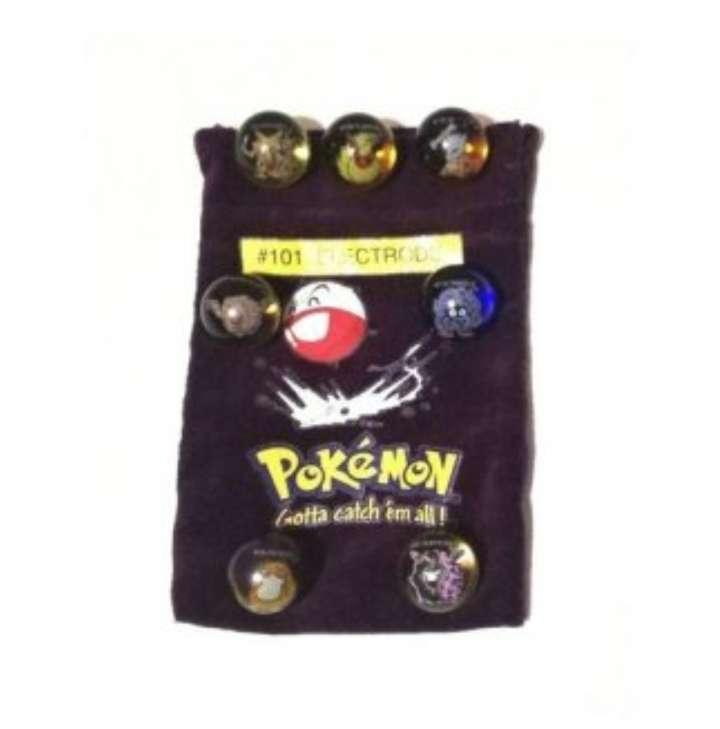 Imagen Lote De Canicas Pokémon 1990