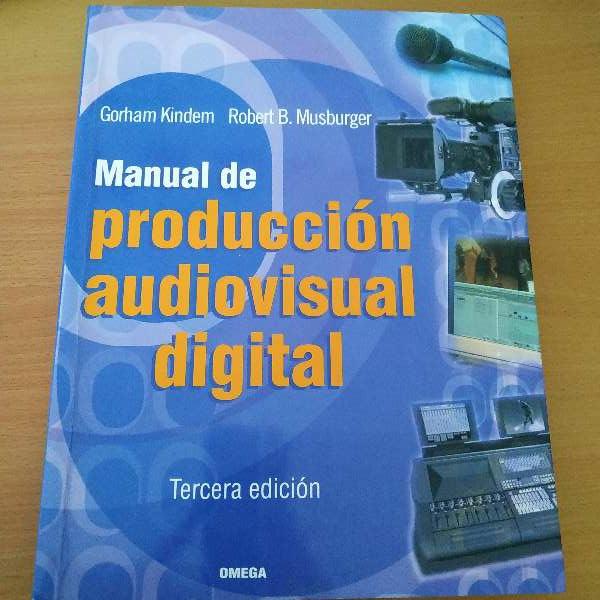 Imagen Manual de producción audiovisual Digital