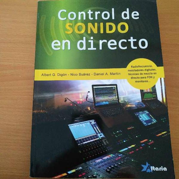 Imagen Control de sonido en directo