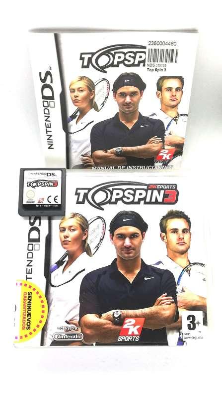 Imagen producto Topspin 3 Tenis Para Nintendo DS 2