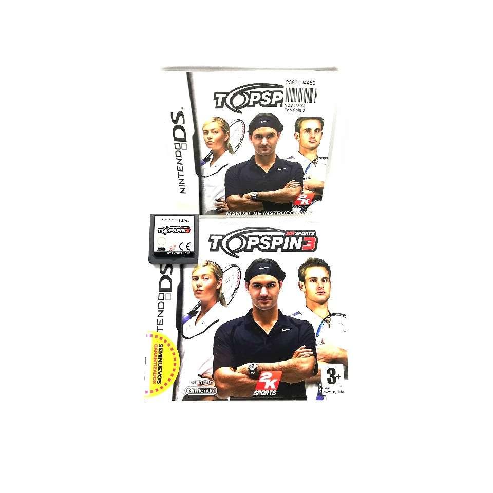 Imagen Topspin 3 Tenis Para Nintendo DS