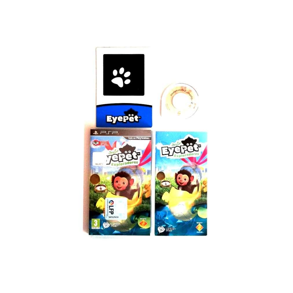 Imagen EyePet Exploradores PSP