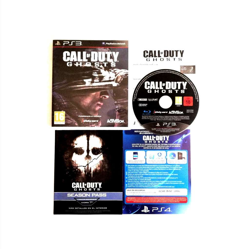 Imagen Call Of Duty Ghost PS3