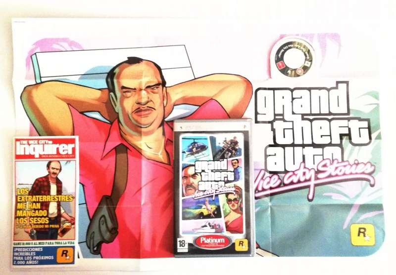 Imagen producto Grand Theft Auto Vice City Stories PSP 2