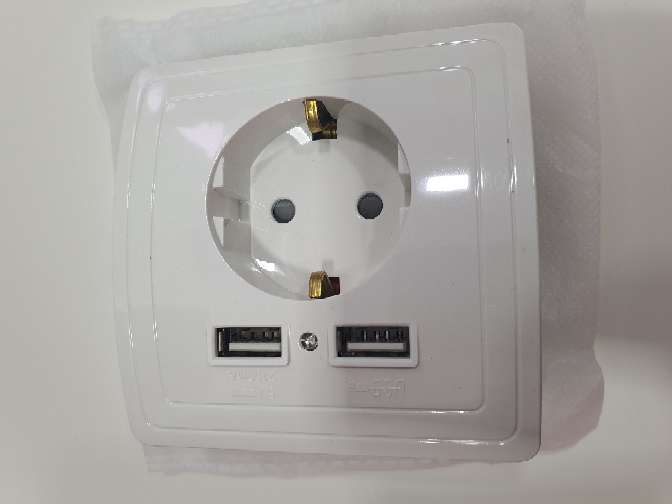 Imagen producto Enchufe con USB 2.1 amp 4