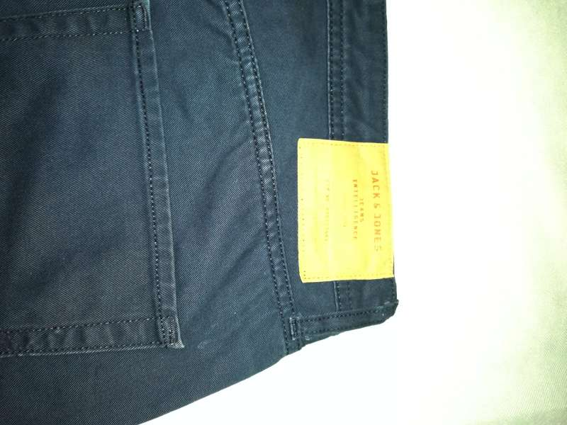 Imagen producto Pantalón Corto Jack & Jones M Azul Oscuro 2