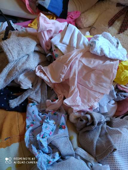 Imagen ropa de niña 0-3 3-6meses