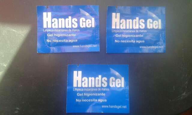 Imagen gel higienizante de manos individual/ 1 ml