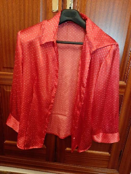 Imagen producto Camisa roja mujer 1