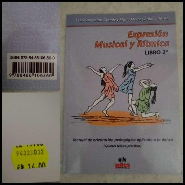 Imagen Expresión musical y rítmica libro 2° nuevo