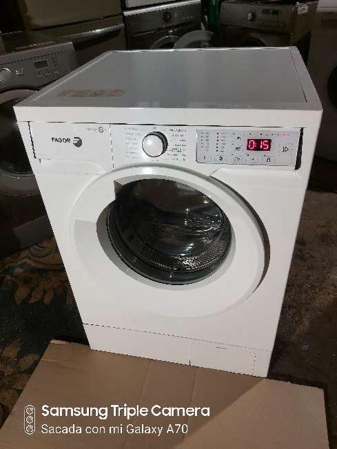 Imagen lavadora fagor de 8kg