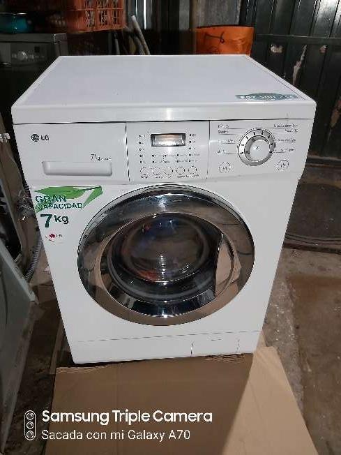 Imagen lavadora LG de 7kg