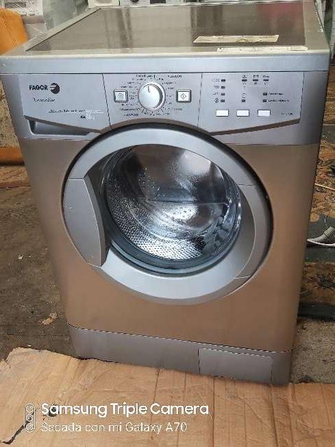 Imagen lavadora fagor de 7kg inoxidable