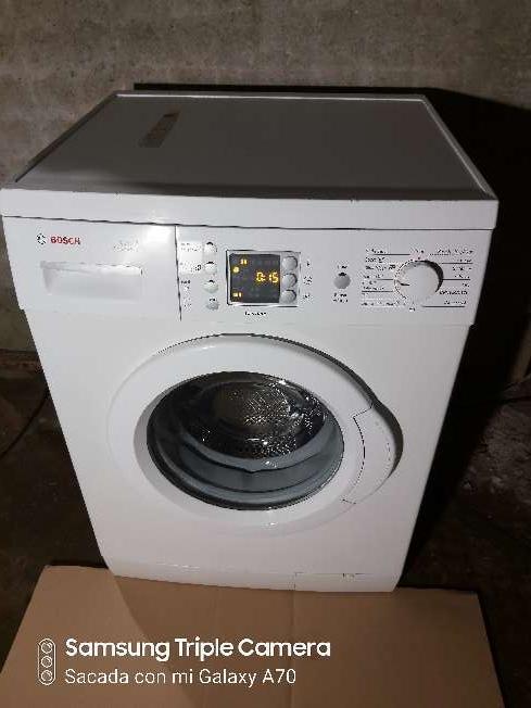 Imagen lavadora bosch de 7kg