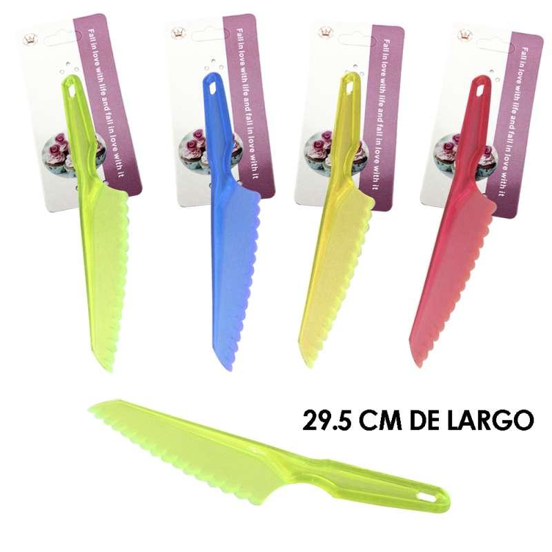 Imagen MT183 cuchillo de plástico Set de 3 piezas