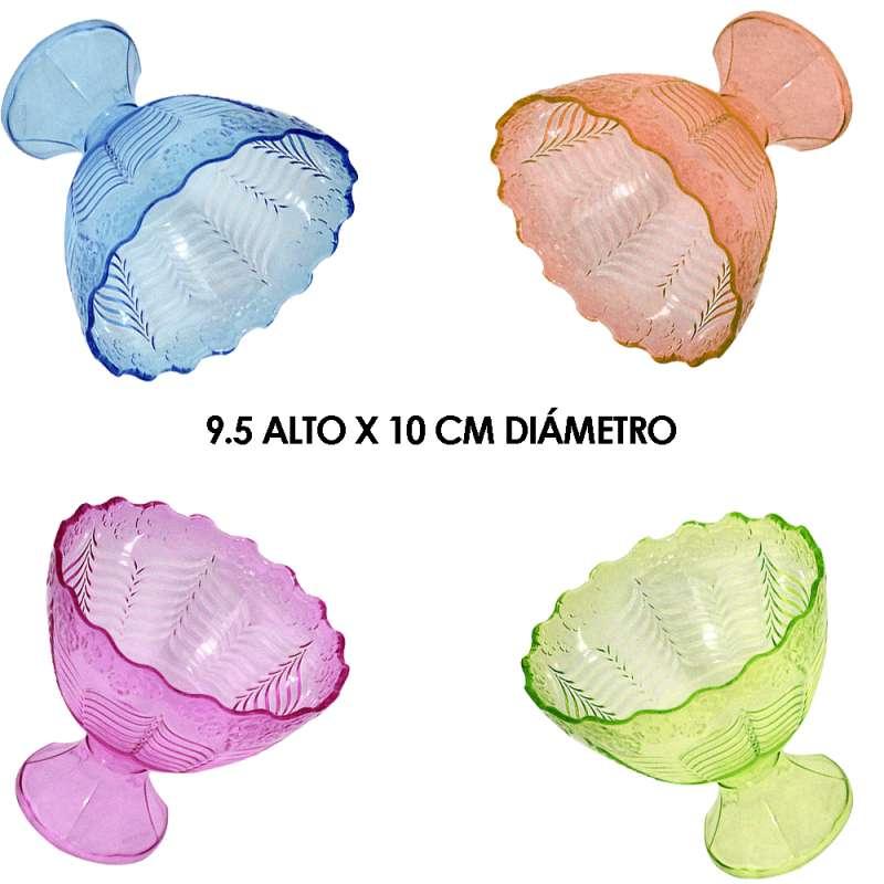 Imagen MT178 copa de plástico cristal set de 6 piezas