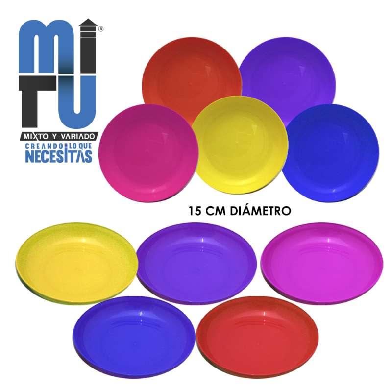 Imagen VM0012 soperito liso marca Mitu 12 piezas