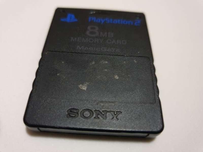 Imagen producto Memory Card PS2 8MB Para PlayStation 2 2
