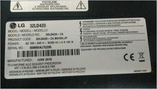 Imagen producto TV LG televisor HDMI 32 pulgadas 2