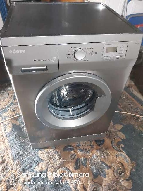 Imagen lavadora edesa de 7kg inoxidable