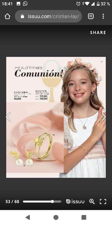 Imagen producto Baño de oro y oro de 18kilates 2