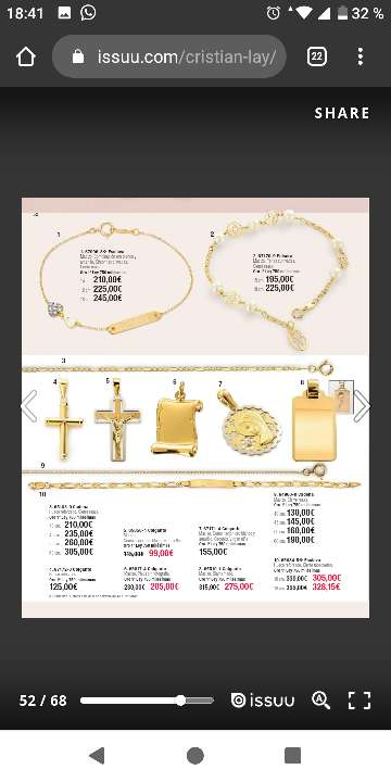 Imagen producto Baño de oro y oro de 18kilates 3