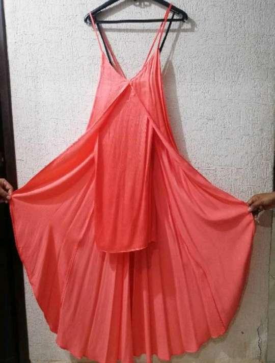 Imagen producto Vestido Color Coral  3