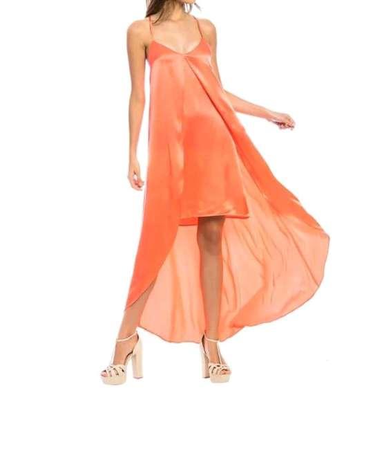Imagen producto Vestido Color Coral  5
