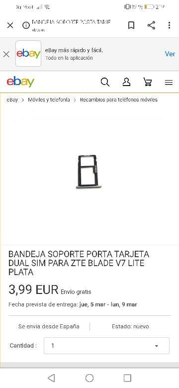 Imagen producto ZTE blade v770 3