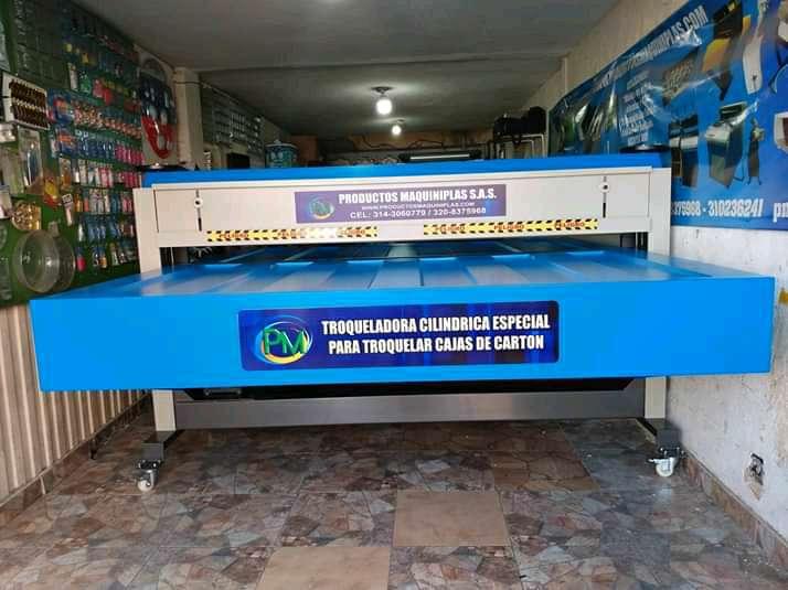 Imagen producto Troqueladora especial para cajas de carton  3