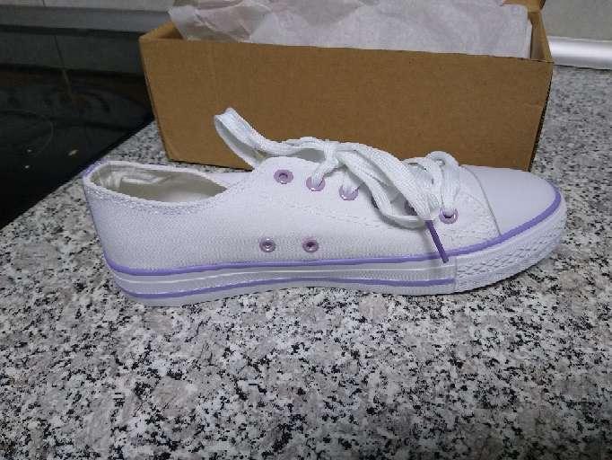 Imagen producto Zapatillas Tenis Blancos nuevos mujer 1