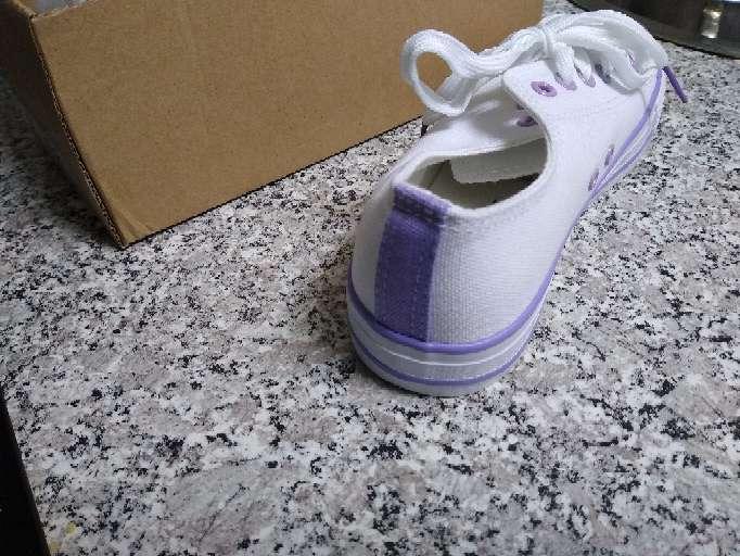 Imagen producto Zapatillas Tenis Blancos nuevos mujer 2