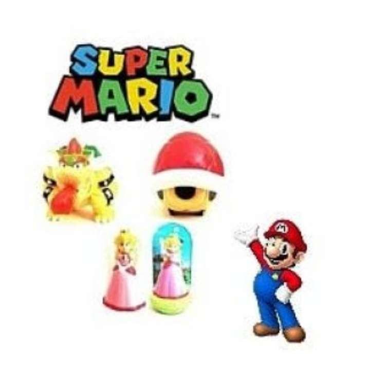 Imagen Figuritas De Mario Bros