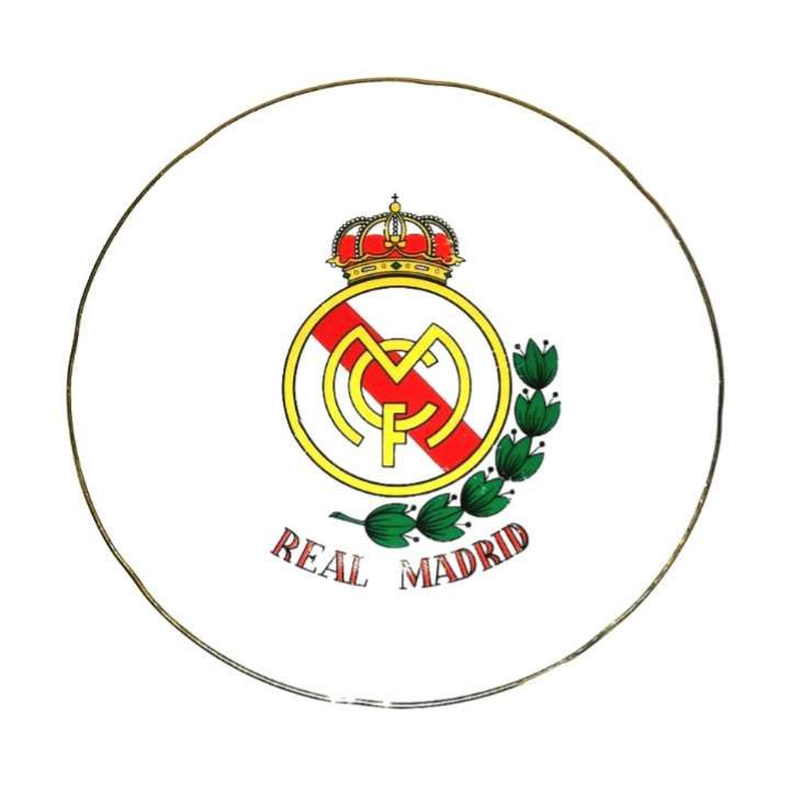 Imagen Plato Del Real Madrid