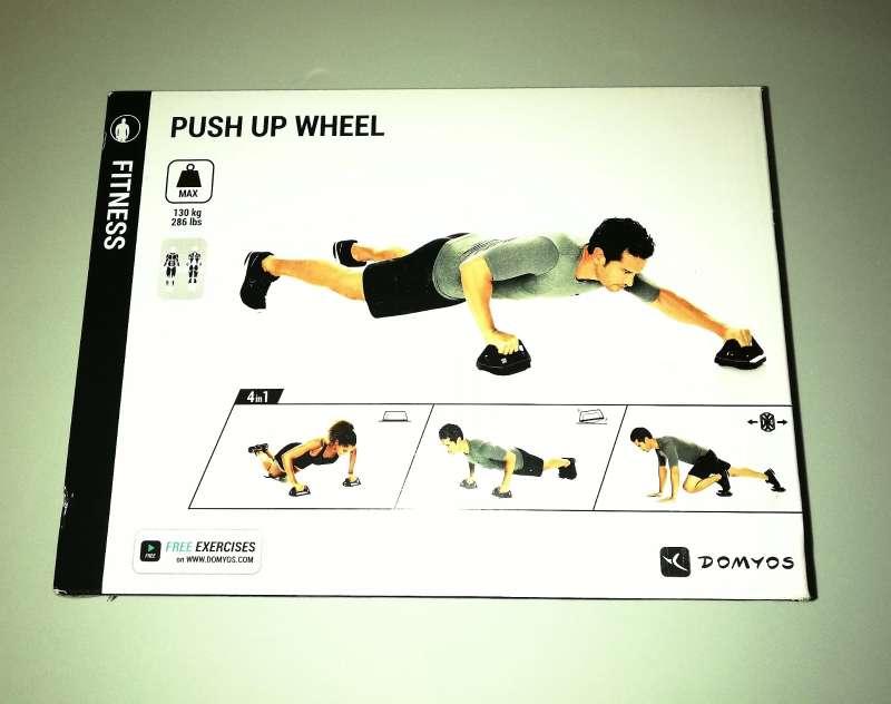 Imagen producto Push Up Wheel + Guantes De Entrenamiento. 3